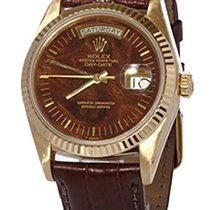 Rolex Day-Date 36 Yellow gold 36mm Brown No numerals