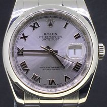 Rolex Datejust 36MM Steel, Oyster Roman Dial, Box&Papers/2013...