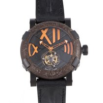 Romain Jerome 46mm Manual winding pre-owned Titanic-DNA Black