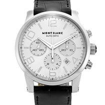 Montblanc 42mm Automatic 2014 pre-owned Timewalker Silver