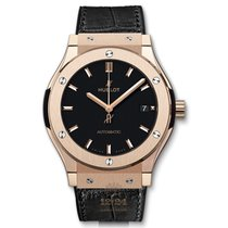 Hublot Red gold Automatic Black 45mm new Classic Fusion 45, 42, 38, 33 mm