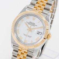 Rolex Chronometer 36mm Automatik 2018 neu Datejust (Submodel) Weiß