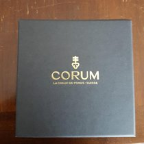 Corum Silver Manual winding Silver (solid) No numerals 32mm new Coin Watch