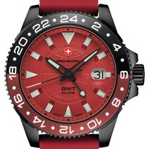 Swiss Military 42mm Quartz 2019 new Red