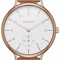Skagen Gold/Steel 34mm Quartz SKW2405 new