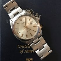 Rolex Oyster Precision Steel 34mm Silver No numerals United States of America, Connecticut, Fairfield