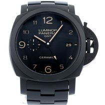 Panerai Luminor 1950 3 Days GMT Automatic PAM 438 Very good Ceramic 44mm Automatic