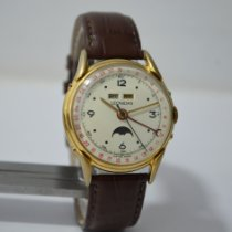 Leonidas Gold/Steel 42mm Manual winding pre-owned India, MUMBAI