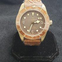 Tudor Bronze Automatic Brown Arabic numerals 43mm new Black Bay Bronze