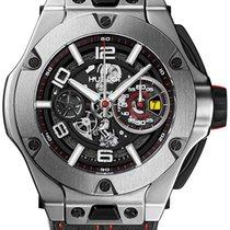 Hublot Big Bang Ferrari Titanium 45mm Black Arabic numerals