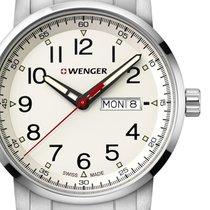 Wenger Steel 42mm Quartz 01.1541.108 new