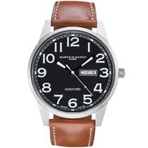 Maurice de Mauriac Steel 42mm Automatic AM MO 936 12 L new
