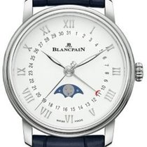 Blancpain 6126-1127-55B Acier 2021 Villeret Ultra-Plate 33mm nouveau