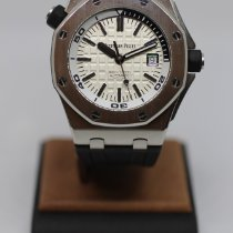 Audemars Piguet Royal Oak Offshore Diver Steel 42mm Silver No numerals
