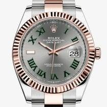 Rolex Datejust II Gold/Steel 41mm Grey Roman numerals United States of America, New York, New York