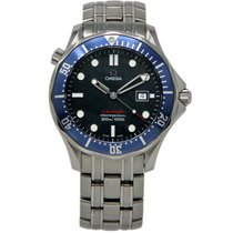 Omega 2221.80.00 Steel 2003 Seamaster Diver 300 M 41mm pre-owned