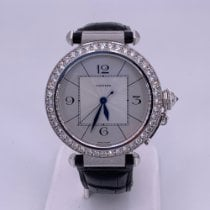 Cartier WJ1116M9 White gold Pasha 42mm pre-owned United States of America, Florida, Fort Lauderdale