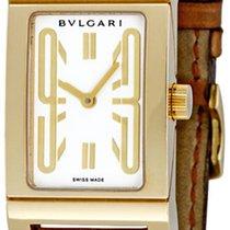Bulgari Rettangolo Yellow gold 39mm White No numerals United States of America, New York, Greenvale