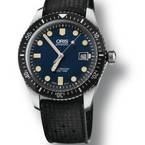 Oris Divers Sixty Five new Automatic Watch with original box and original papers 01 733 7720 4055-07 4 21 18