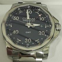 Corum Admiral's Cup GMT 44 Steel 44mm Black Arabic numerals