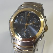 Ebel Classic Wave - Chronograph - Like new - Box & Papers