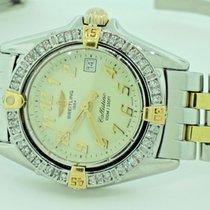 Breitling Callistino Gold/Steel 27mm White Arabic numerals United States of America, New York, NEW YORK CITY