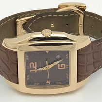 Chopard Two O Ten 18k Rose Gold Brown Dial Quartz 127468-5003