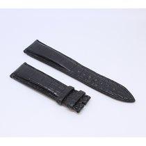IWC Original Black Leather Alligator Band 21/18mm