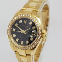 Rolex Lady-Datejust 18K Yellow Gold 26mm Diamond Dial &Bezel...