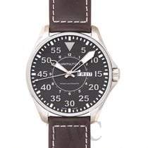 Hamilton H64715535 Acier Khaki 46mm nouveau