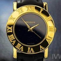 Mondaine Unisex Rare Swiss Gold-Plated Quartz 31mm Dress Watch...