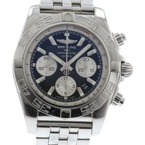 Breitling Chronomat 44 AB0110 Watch with Stainless Steel...