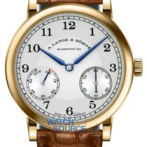 A. Lange & Söhne 1815 Yellow gold 39mm Silver Arabic numerals