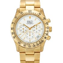 Zenith A Yellow Gold Automatic Chronograph Wristwacth With...