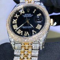 Rolex Datejust 41mm Custom Diamonds (VERY FLASHY)