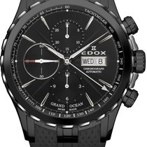 Edox Steel 45mm Automatic 01113-357N-NIN new