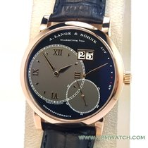 A. Lange & Söhne Red gold Manual winding 42mm pre-owned Grand Lange 1