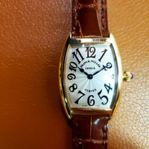 Franck Muller Yellow gold Quartz 25mm Cintrée Curvex