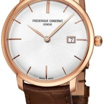 Frederique Constant Slimline Automatic Rose gold Silver United States of America, New York, Brooklyn