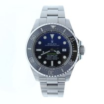 Rolex 44mm Remontage automatique occasion Sea-Dweller Deepsea Noir
