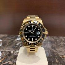Rolex 116718LN Κίτρινο χρυσό 2019 GMT-Master II 40mm καινούριο