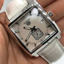 TAG Heuer Monaco Lady Steel 37mm Mother of pearl