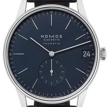 NOMOS Orion Neomatik Steel 40,5mm Blue