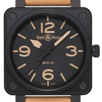 Bell & Ross BR0192-HERITAGE 2019 BR 01-92 46mm new