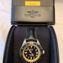 Breitling Superocean 42 Steel 42mm Yellow Arabic numerals United States of America, Virginia, Richmond