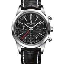 Breitling Transocean Chronograph GMT Steel 43mm
