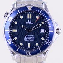 Omega Seamaster Diver 300 M Stahl 41mm Blau Keine Ziffern Deutschland, Langenfeld