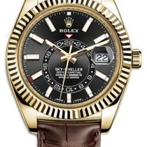 Rolex Sky-Dweller Yellow gold 42mm Black Roman numerals United States of America, New York, New York