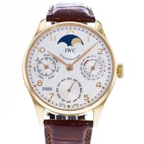 IWC Portuguese Perpetual Calendar IW5022-13 Very good Rose gold 42mm Automatic
