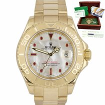 Rolex Yacht-Master 40 16628 Very good Yellow gold 40mm Automatic